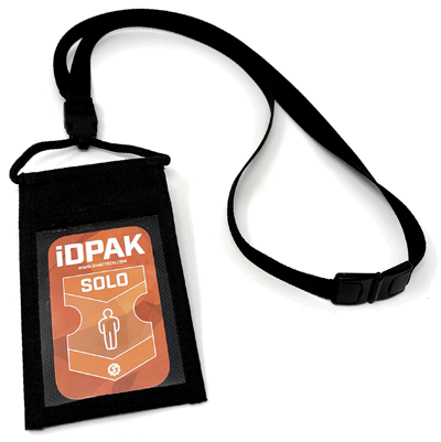 RFID enabled I.D.Pack Badge
