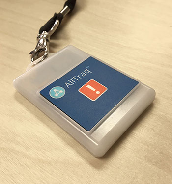RFID enabled Personnel Badge